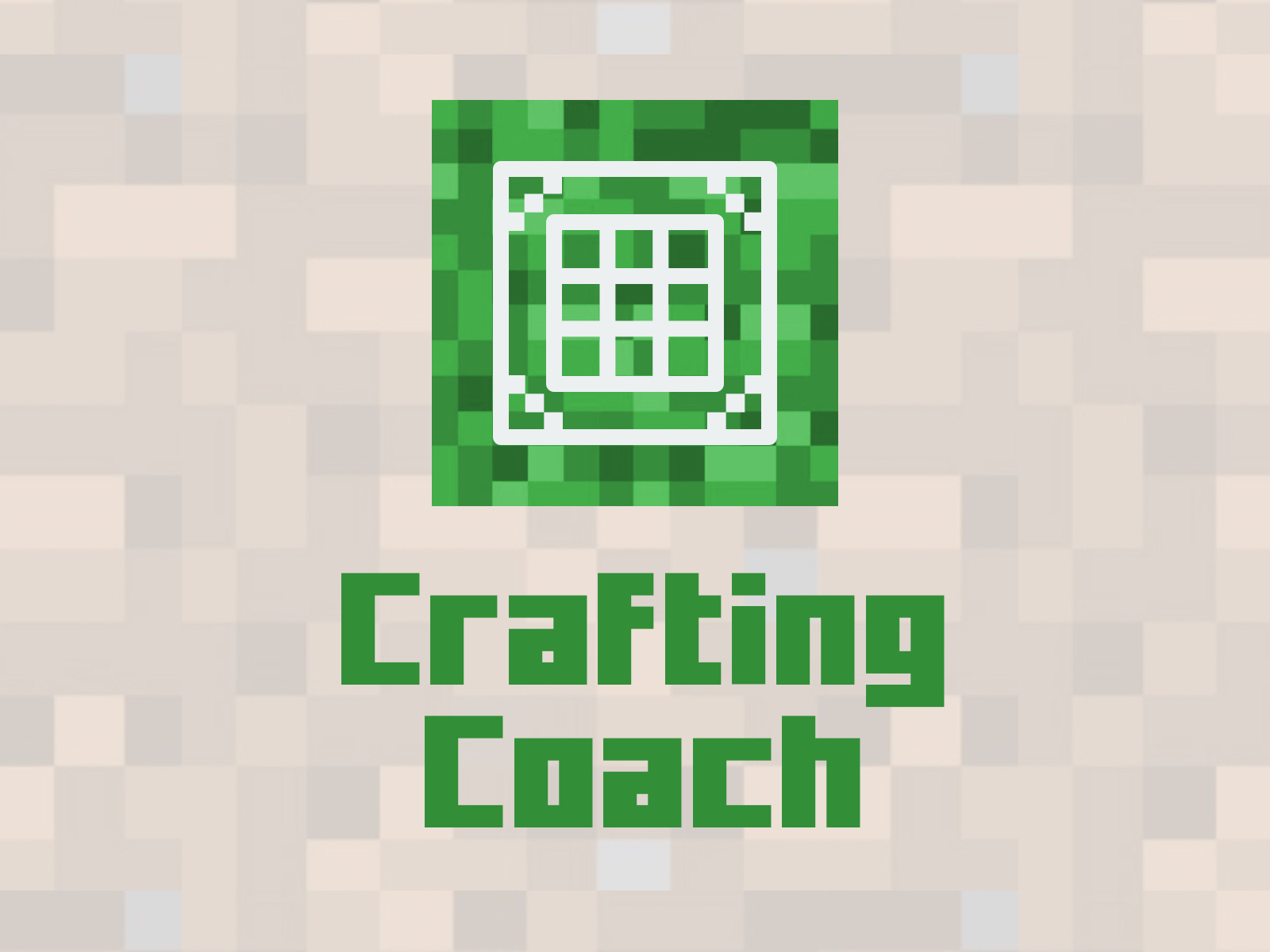 Crafting Coach