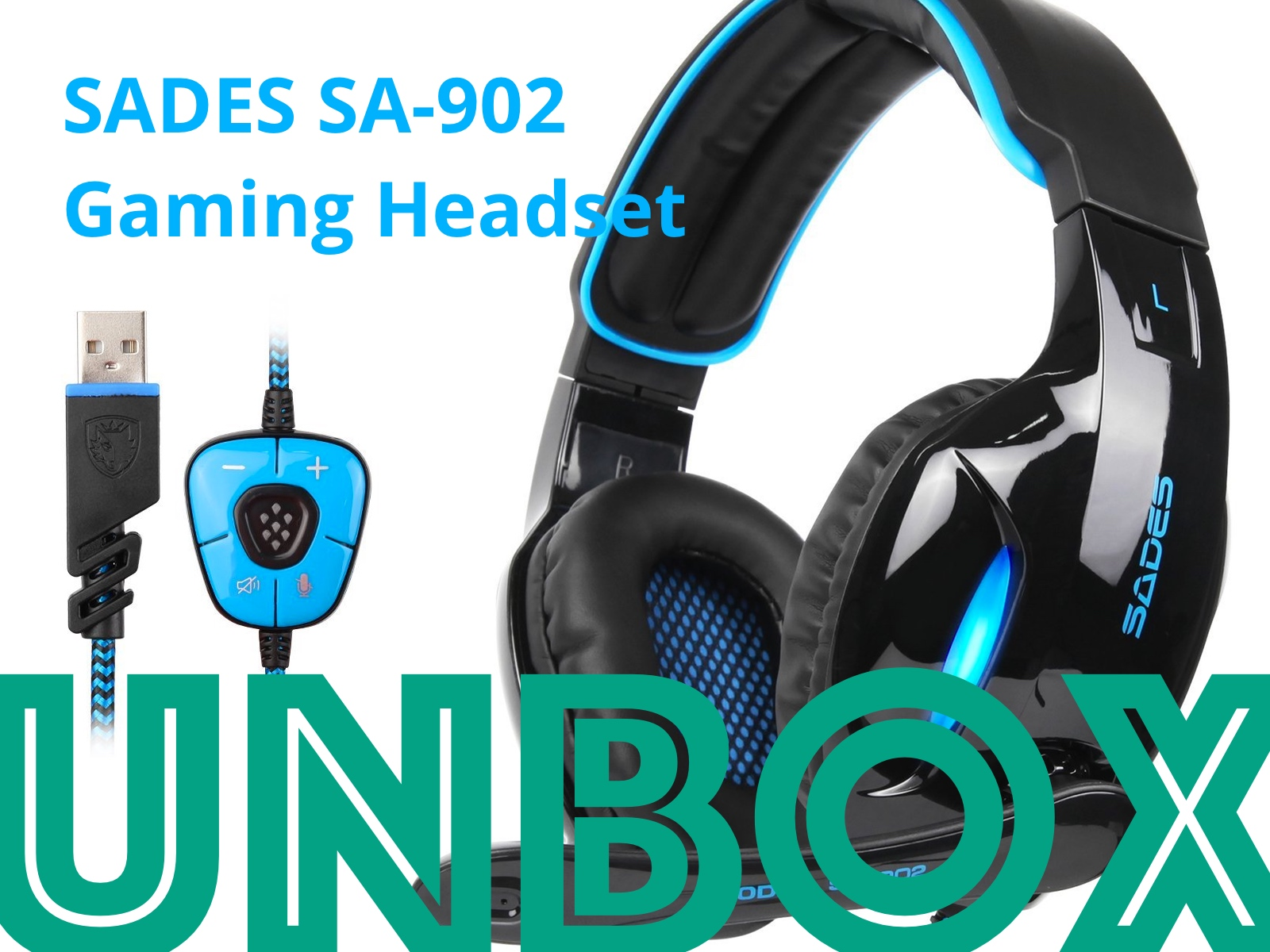 SADES SA-902 Gaming Headset