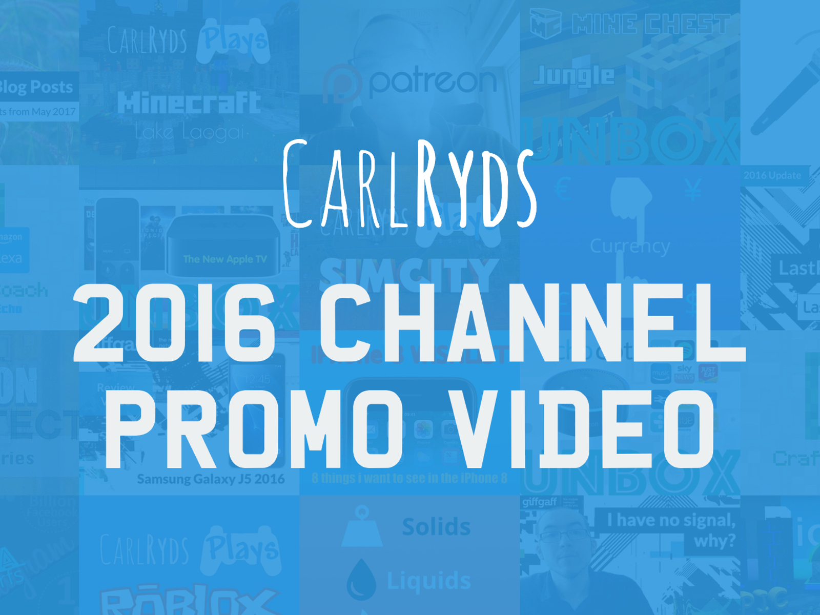 2016 Channel Promo Video