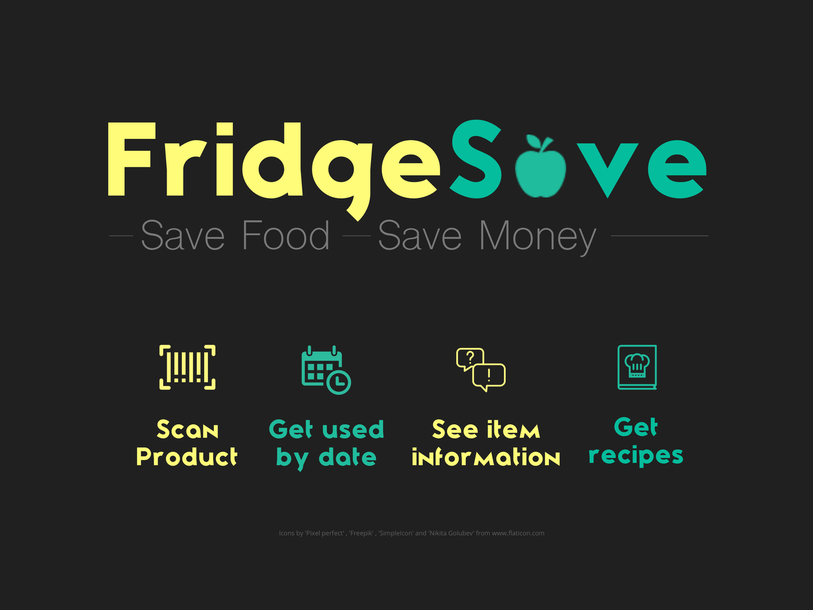 Fridge Save App