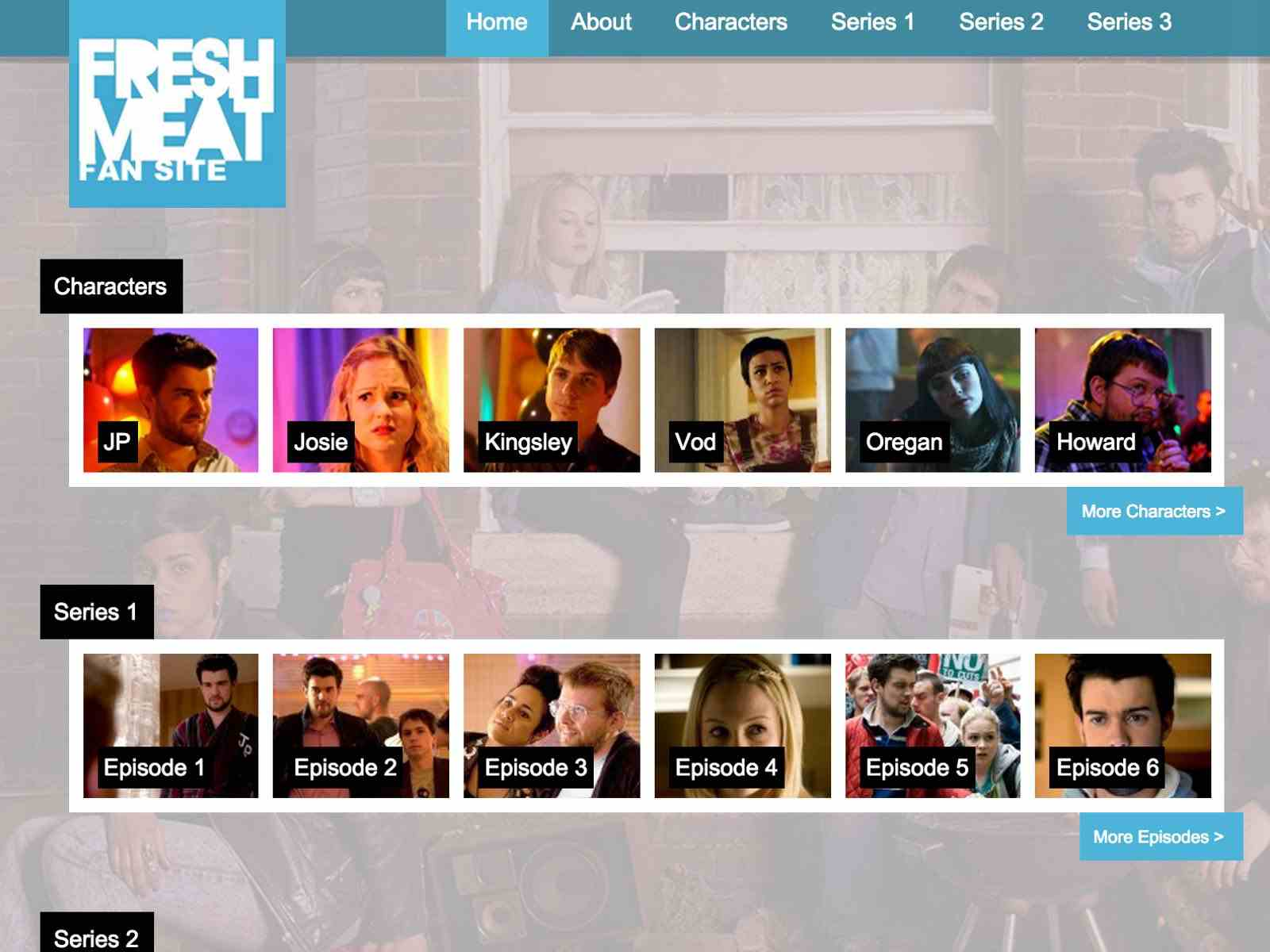 Fresh Meat Fansite