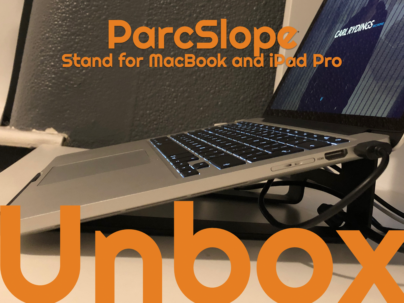 ParcSlope stand for MacBook and iPad Pro from Twelve South