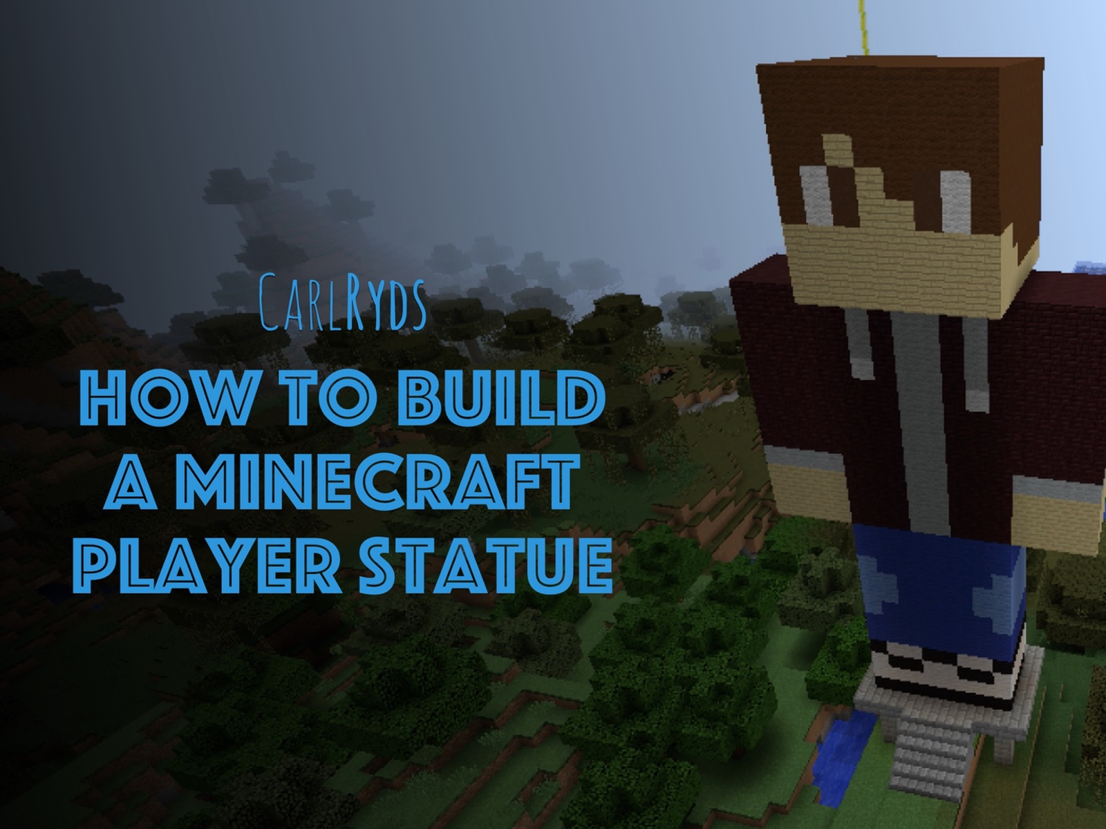 How To Build a Minecraft Player Statue