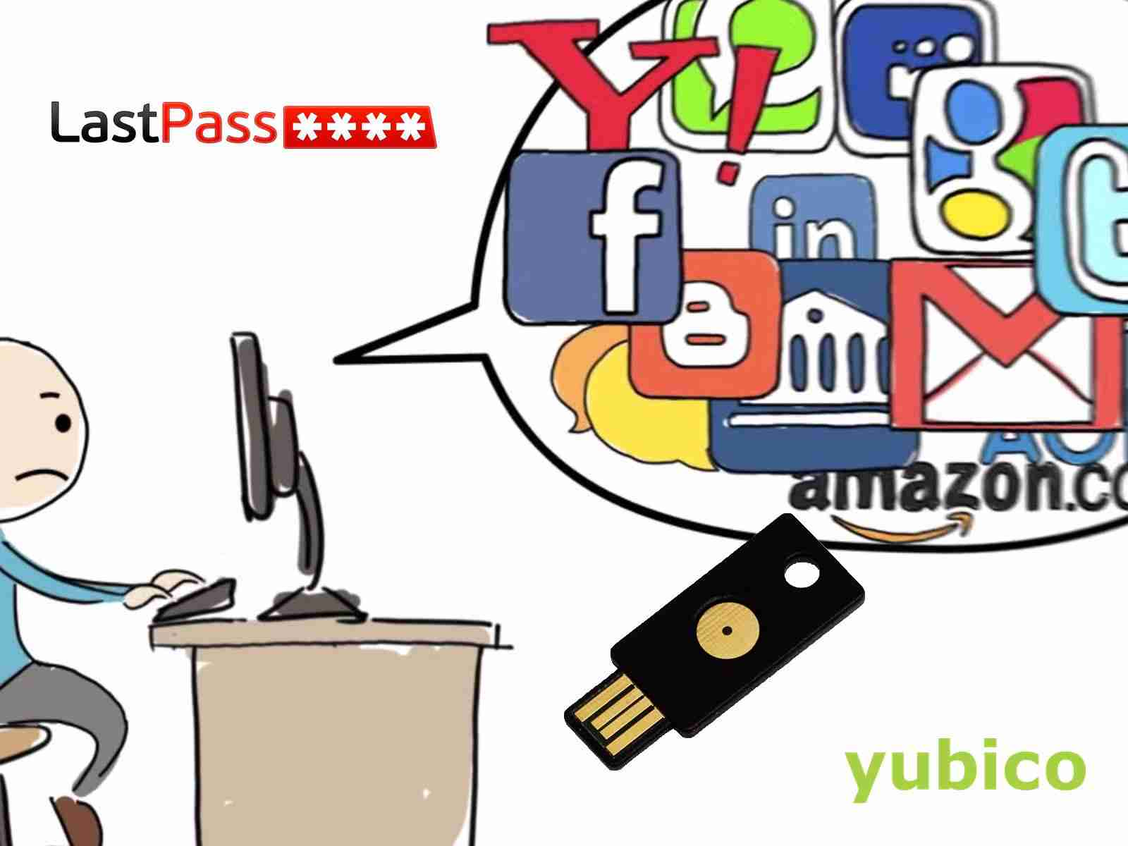 LastPass + YubiKey for online and computer security