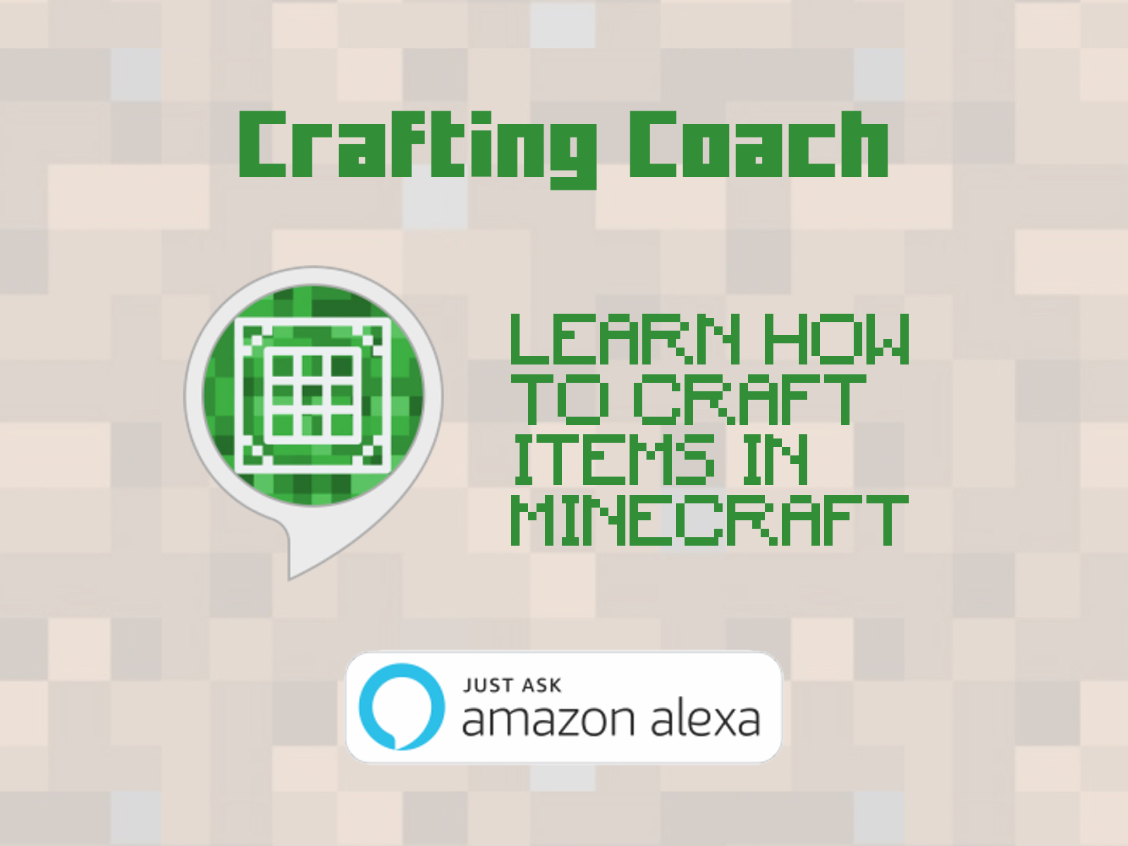 Crafting Coach for Amazon Alexa