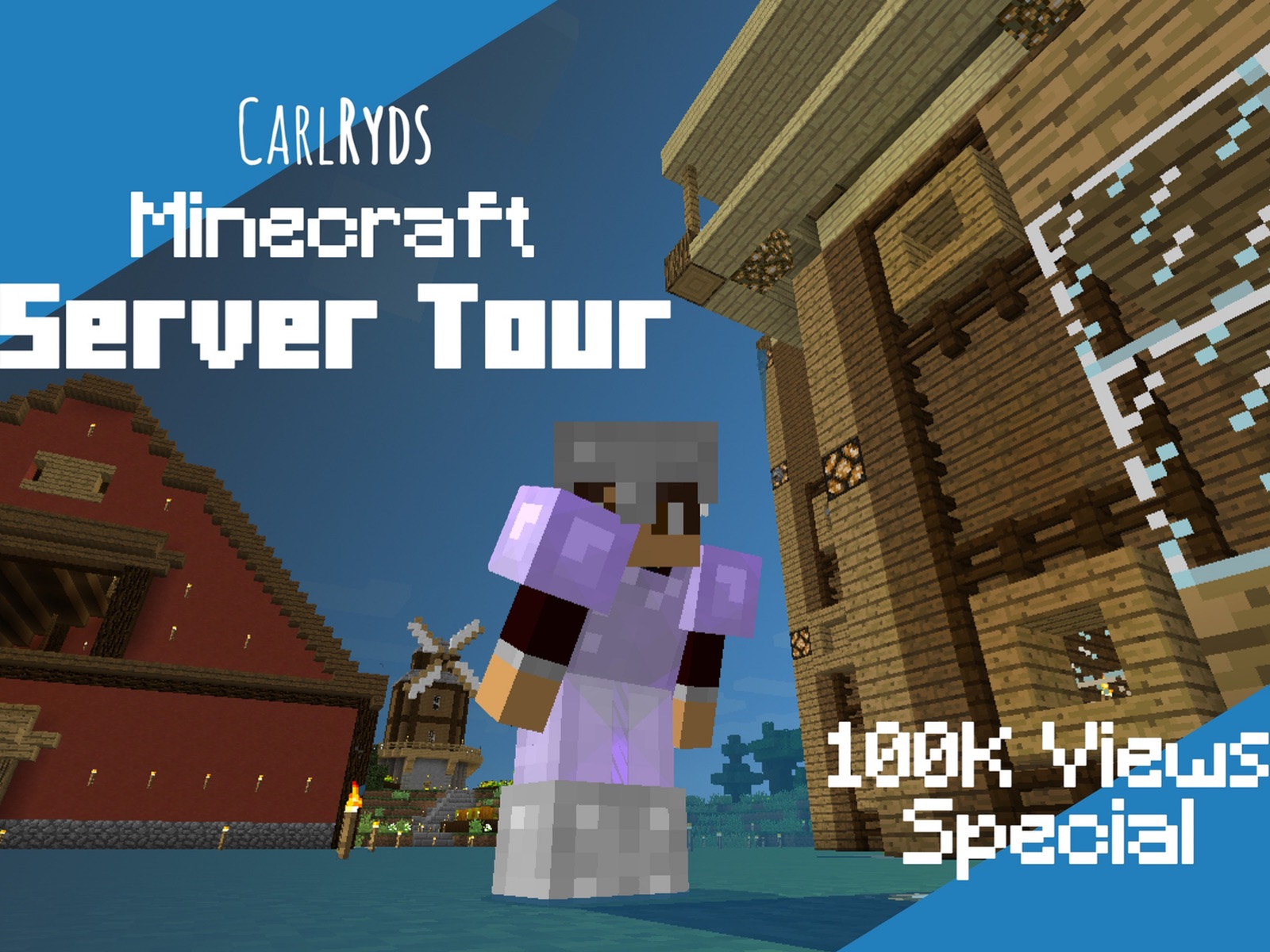 CarlRyds Minecraft Server Tour