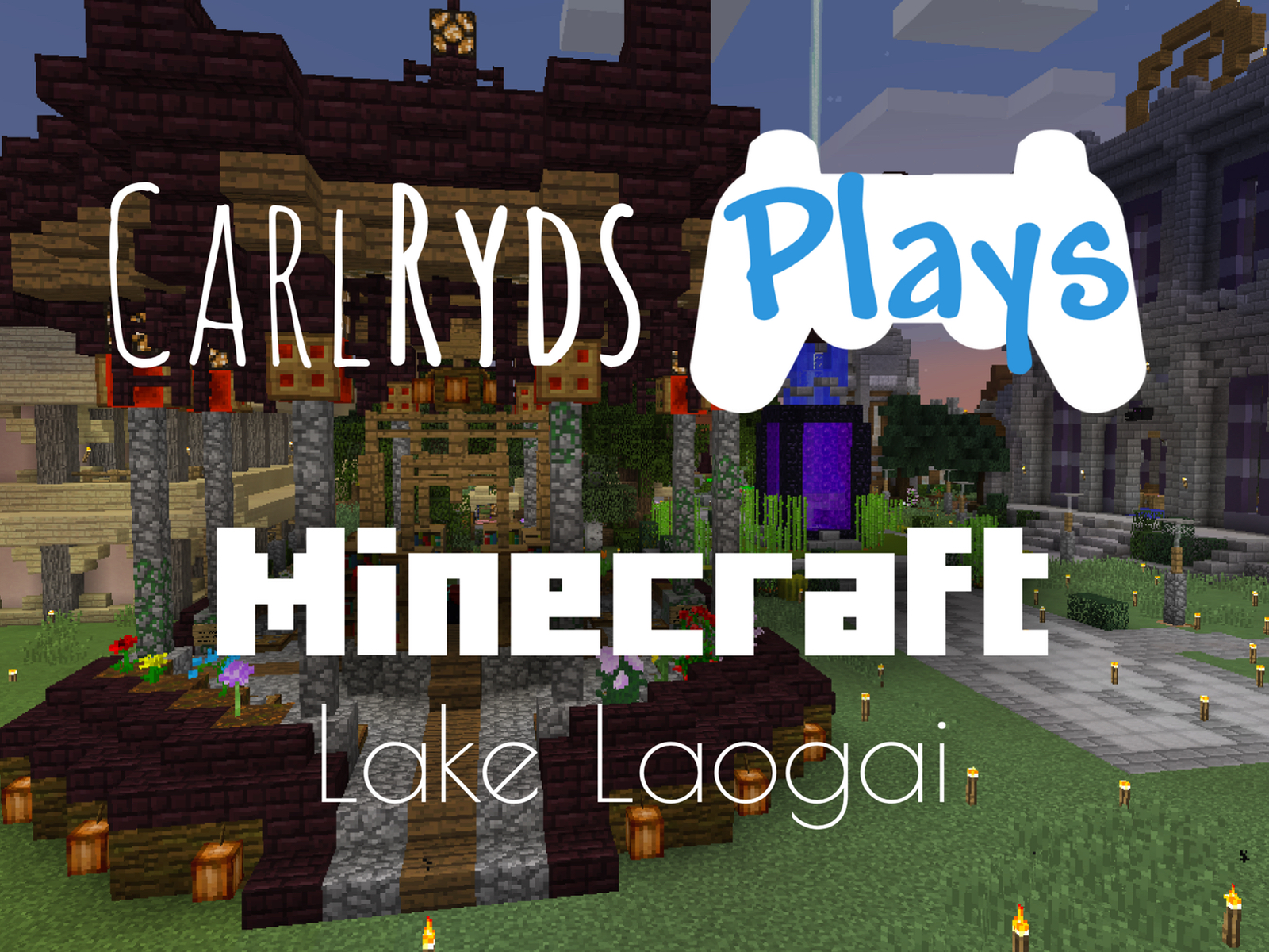CarlRyds plays Minecraft on the Lake Laogai server