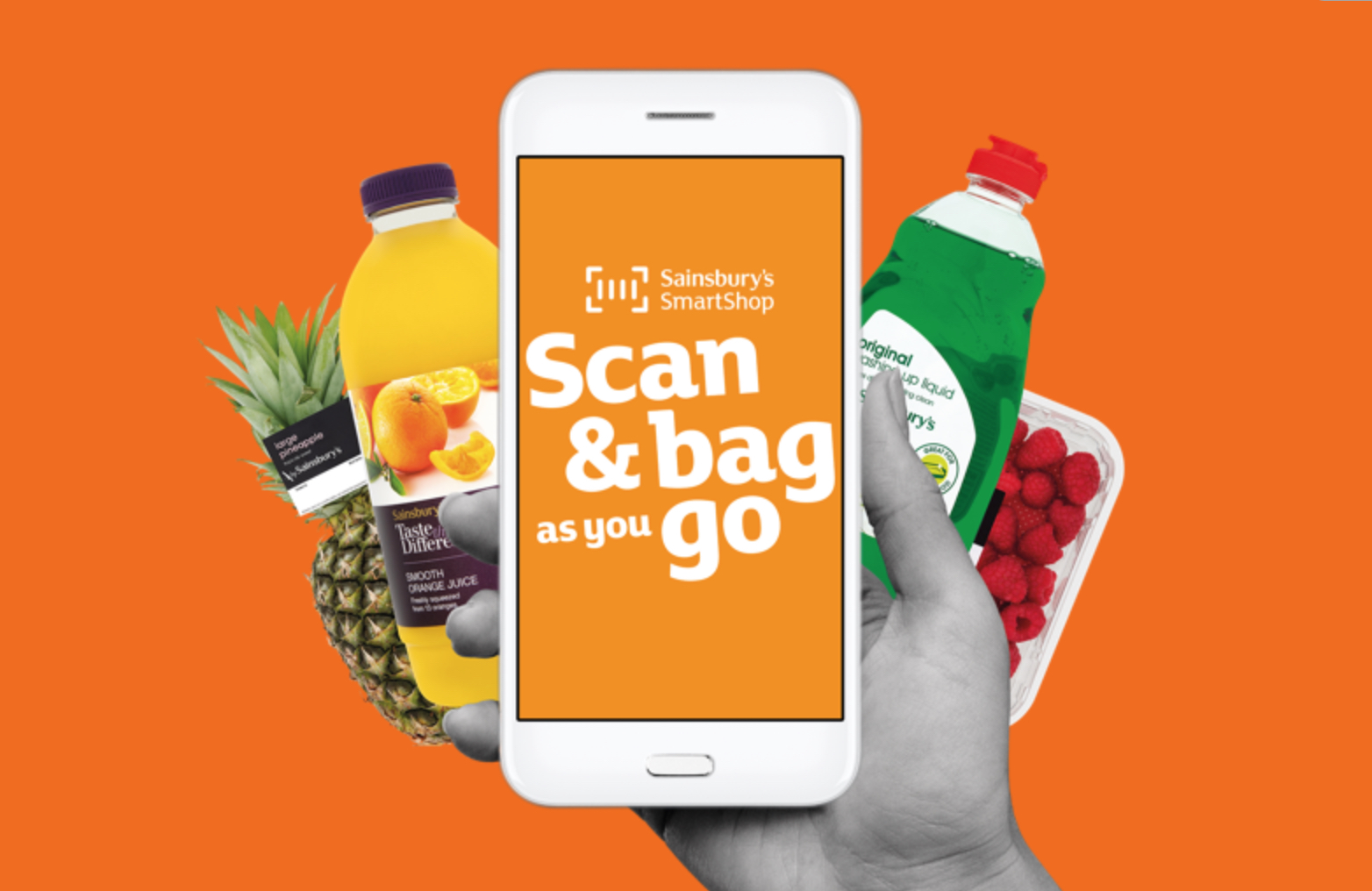 Supermarket Scan and Go – The future of your weekly shop